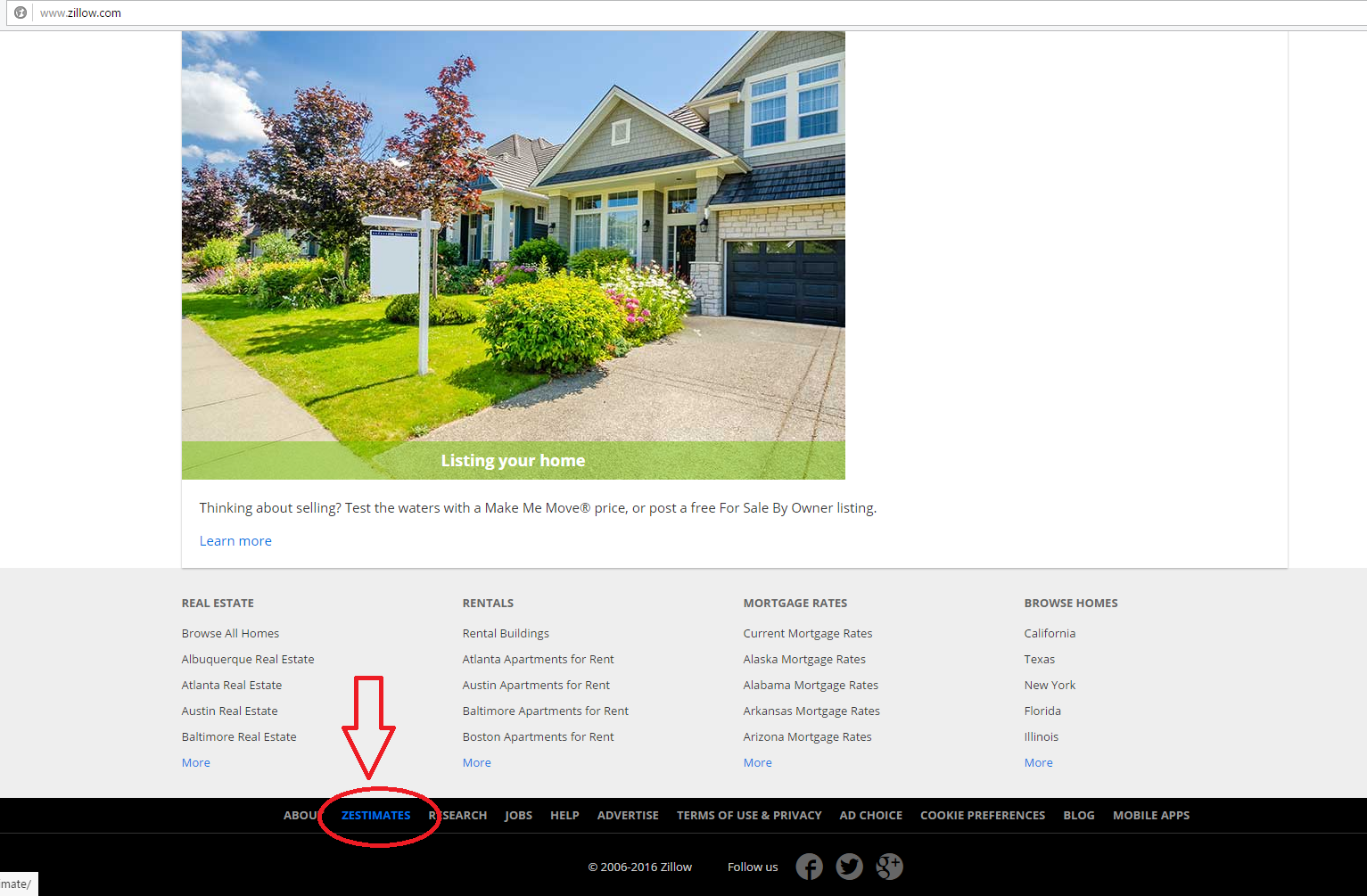 How are zillow zestimates calculator download for Zillow site